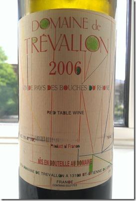 Domaine de Trevallon 2006