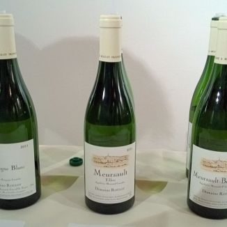 Domaine Roulot's three wines on show