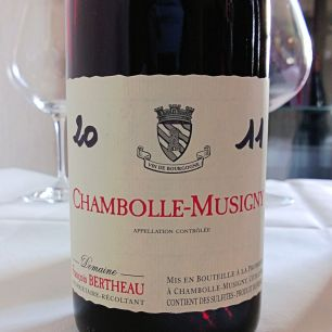 Bertheau Chambolle-Musigny