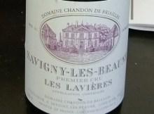 Domaine Chandon de Briailles Saigny-les-Beaune Premier Cru Lavieres 2009