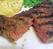 Rib-eye steaks - Woodlands Jersey Beef and Hawksmoor's Macaroni and Cheese