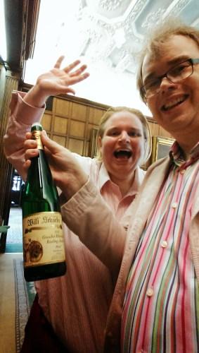 Team Elitistreview enjoy a taste of Willi