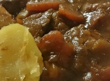 Hampshire beef stew
