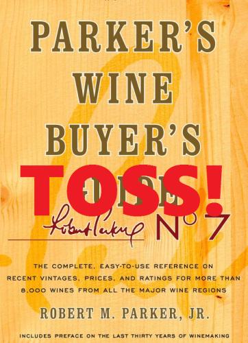 Parker's Wine Buyer's Toss