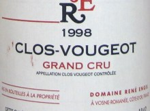 Rene Engel Clos-Vougeot Grand Cru 1998
