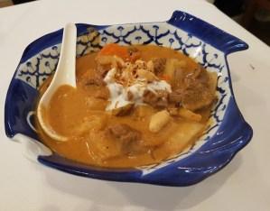 Massaman beef curry Manow