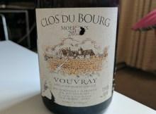 Vouvray Clos du Bourg Moelleux Premier Trie 2002 by Huet