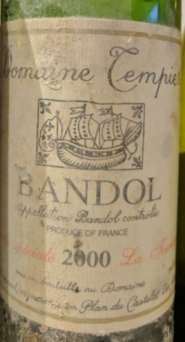 Bandol La Tourtine 2000