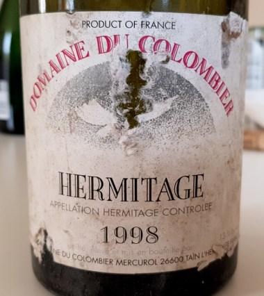 Domaine du Colombier Hermitage 1998