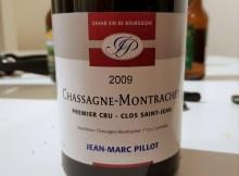 Chassagne-Montrachet 1er Cru Clos Saint Jean 2009 Pillot