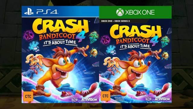 Crash Bandicoot 4 je zrejme hotová vec