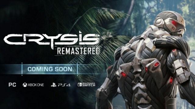 Crytek reaguje na únik trailera, Crysis Remastered sa odkladá