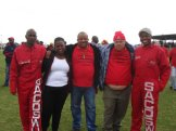 Members of the South African Correctional Services Workers Union (SACOSWU).