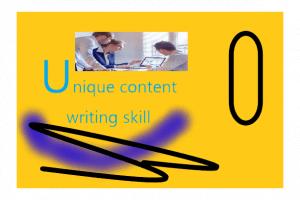 Compétences en rédaction de contenu