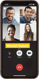 Fonctionnalités de WeChat