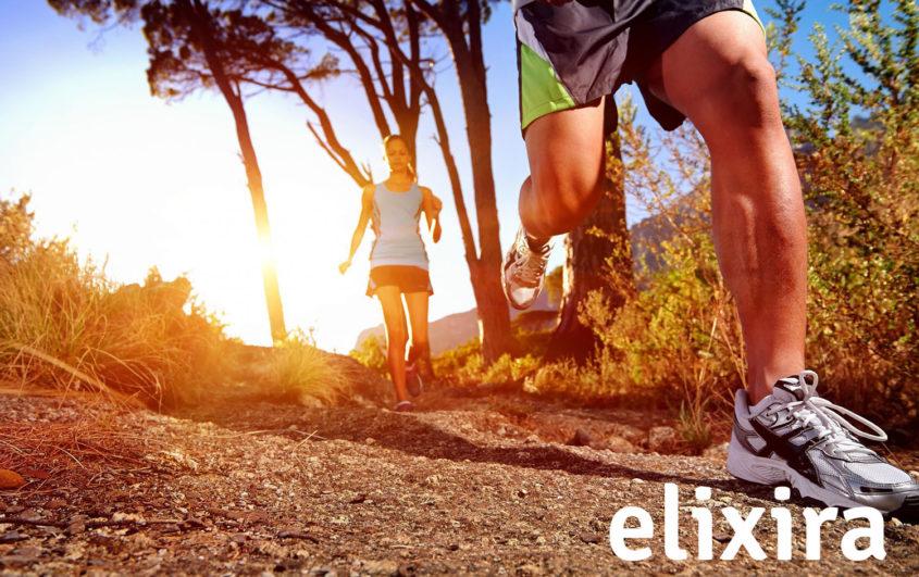 Elixira sport er en sportsserie til dig der træner eller har ømme muskler og led