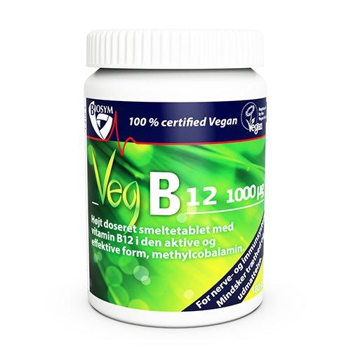 Vegansk B12 er velsmagende og indeholder en høj dosis vegansk vitamin B12. Vitamin B12 er et vandopløseligt vitamin. Køb vegansk vitamin B12 hos Elixira!