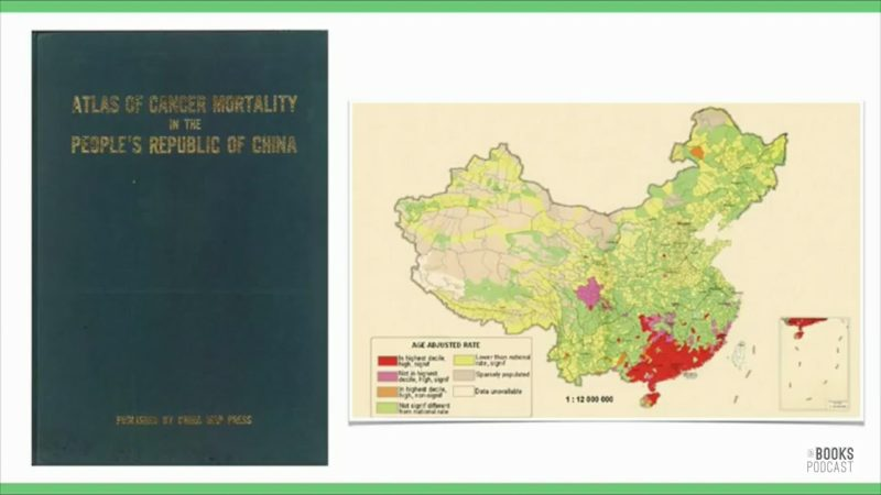 Billedet viser rapporten Atlas of Cancer Mortality in the Republc of China.