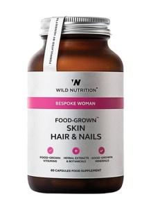 Food grown - Bespoke Woman - Skin Hair & Nails er det ideele kosttilskud til den der vil styrke hår, hud og negle.
