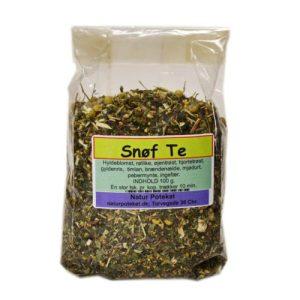 Snøf Te er den perfekte urtette til forebyggelse af symptomer relateret til influenza og forkølelse. Køb den hos Elixira.