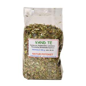 Vand Te er en urtete der er designet til dig der søger efter en vanddrivende te. Køb den hos Elixira!