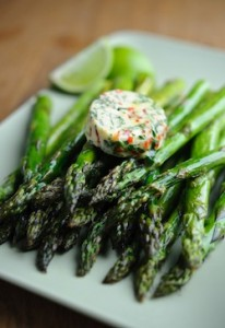 Pam Lloyd PR Asparagus Recipes (23rd & 25th November 2011)