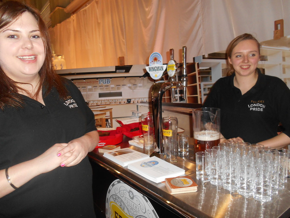 The lovely ladies from Fullers
