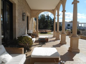 Hotel Hospes Maricel & Spa terrace