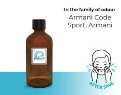 After Shave Τύπου Armani Code Sport, Armani