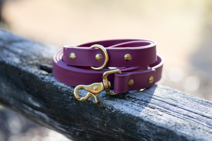 Leash in merlot by Good Wolf Design Co.