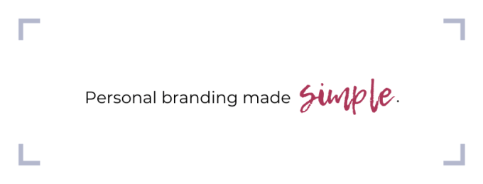 personal branding made simple