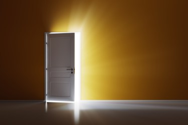 door open light doors closed opening wall behind through orange animation closing powerpoint rays animated opened close opportunity bright hinge