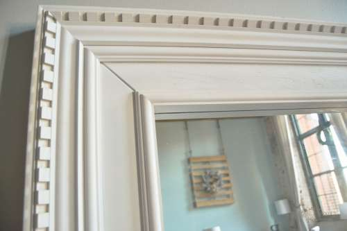 do it yourself ikea mogstad mirror to restoration hardware