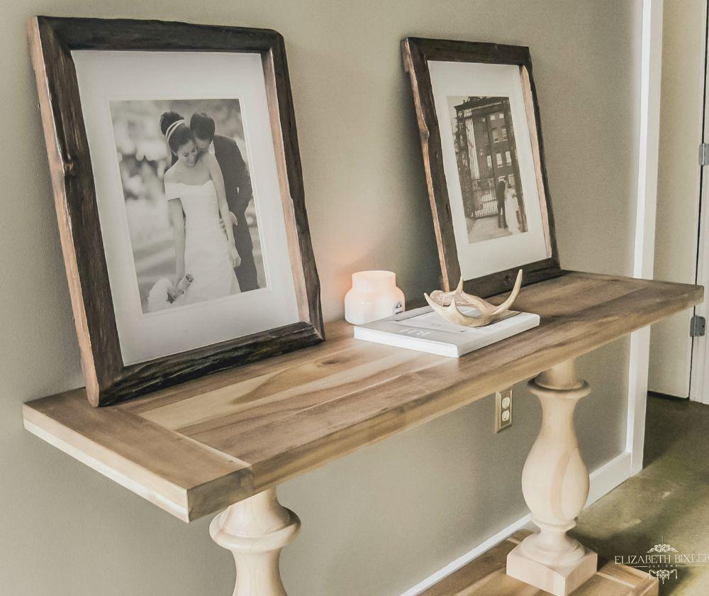 Foyer Table Restoration Hardware : Our loft elizabeth bixler designs