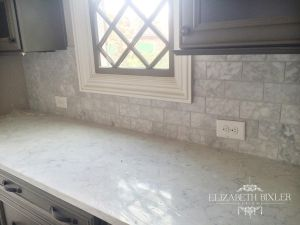 Butler's pantry with LG Minuet Countertops