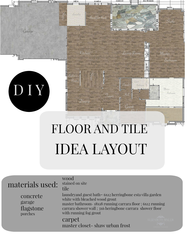 Diy photoshop your floor plan elizabeth bixler designs for Tile layout program