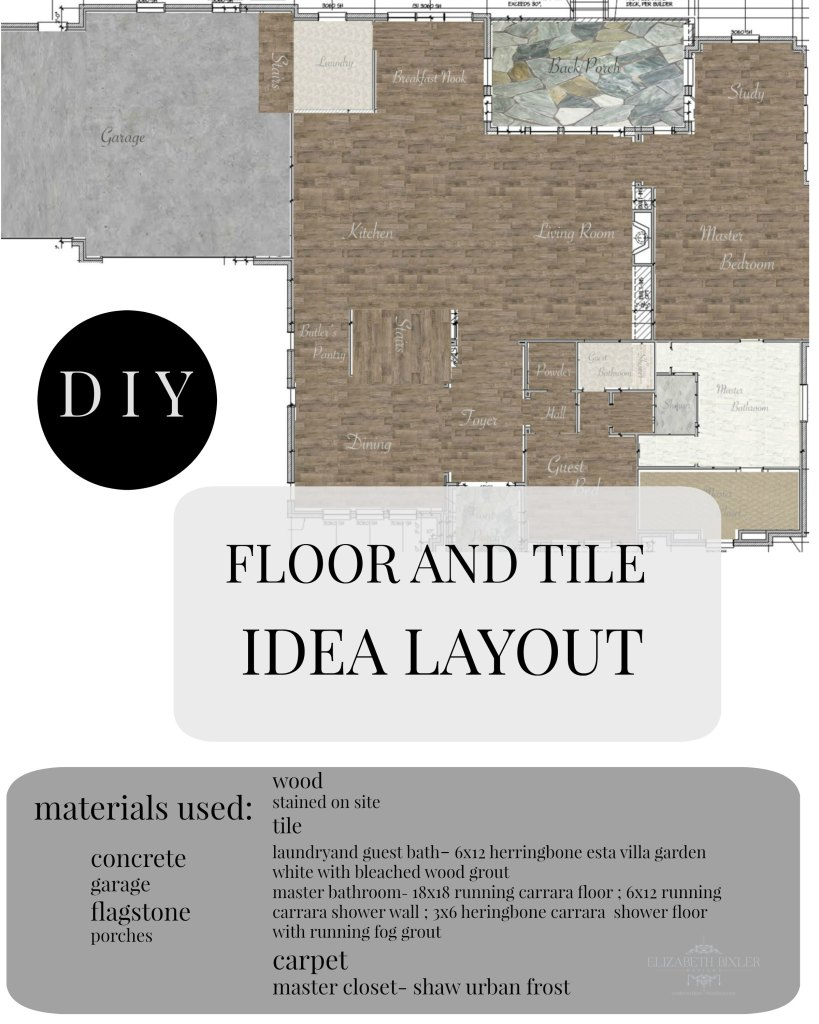 DIY How to Create FLOOR AND TILE idea PLAN layout in photoshop