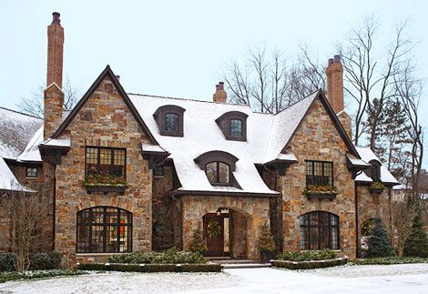 english traditional tudor home architecture design