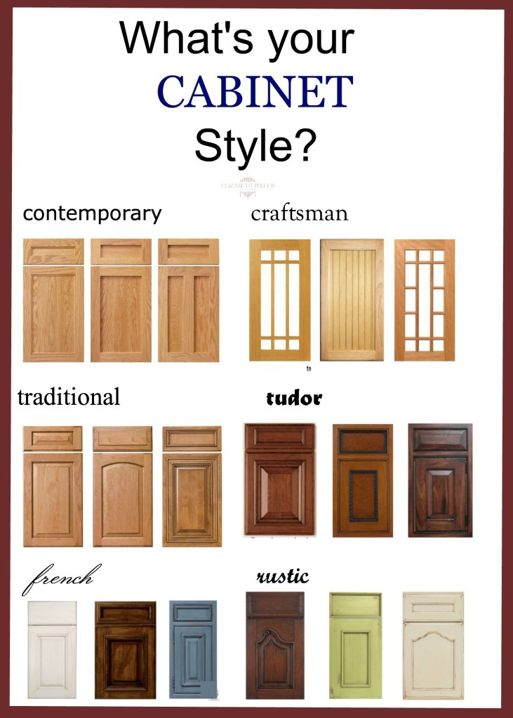 kitchen and bathroom cabinet styles