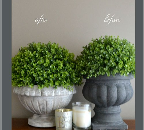 4 Easy Steps to Creating a Gorgeous Distessed French Urn