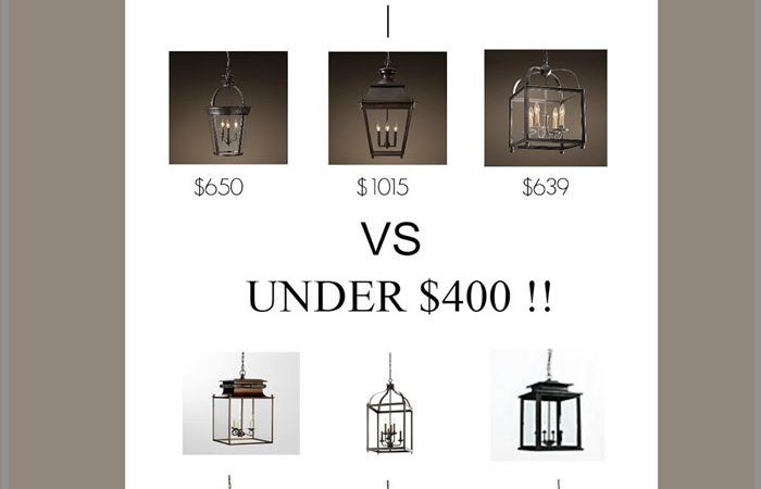 Favorite Cheap Rustic Hanging Lantern Pendant