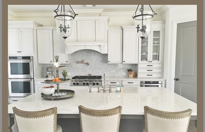 Elizabeth Bixler Designs White French Country Kitchen
