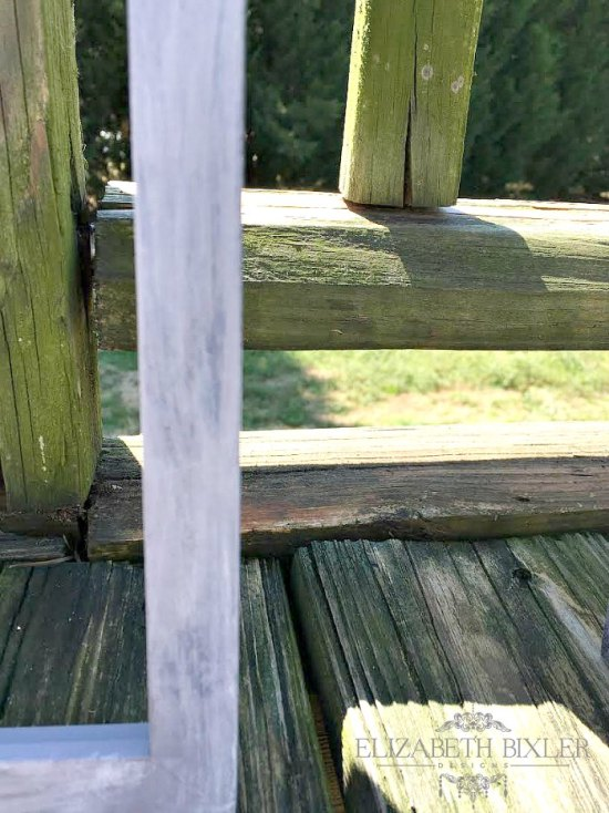 DIY Chalk paint Dixie Belle