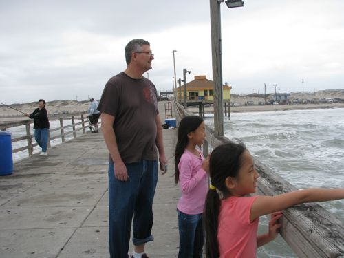 """At """"Bob Hall Pier"""", Coco was mesmerized by . . ."""