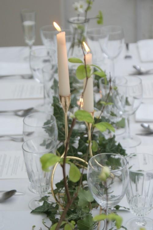 Dinner party styling on EDIT - elizabethdanon.co.uk