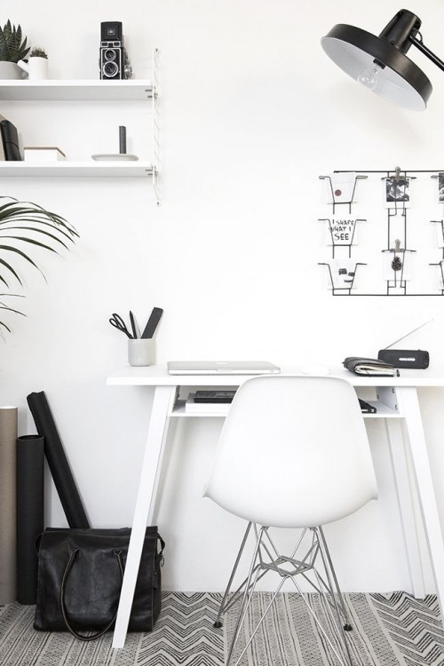 office design, interiors, interior design, white, grey
