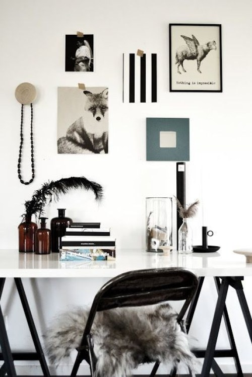 home office, workspace, working from home, interior design