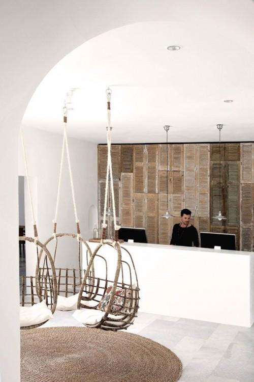 hotel reception, hotel room, interiors