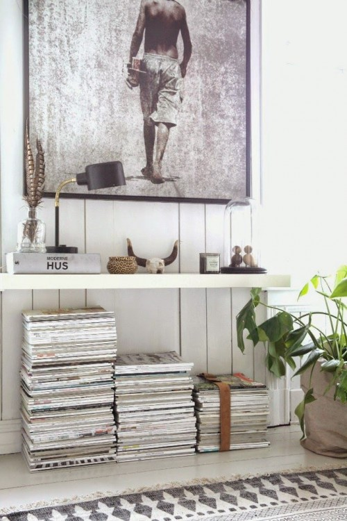 living room, magazine stack, home, interiors