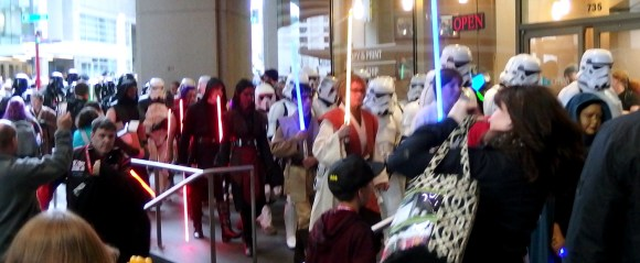 501st Legion and Rebel Legion on parade!